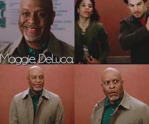 grey's anatomy, andrew deluca, and james pickens jr. image