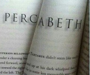 percy jackson, rick riordan, and percabeth image