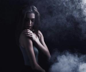 kristen, skin, and smoking image