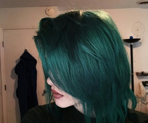 hair, alpine, and green image