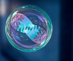bubble and photography image