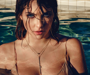 summer, swimming, and ashley benson image