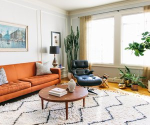 interior design, white, and living room image