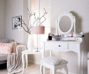 bed, girly, and interior image