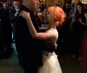 paramore, hayley williams, and wedding image