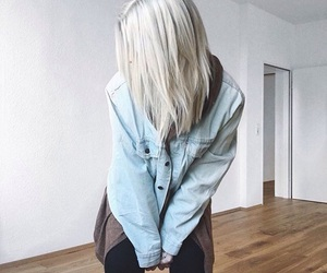 blonde, hair, and youtube image