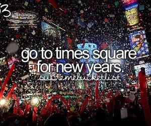 bucket list, bucketlist, and new year image