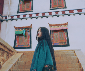 beautiful, girl, and chinese image