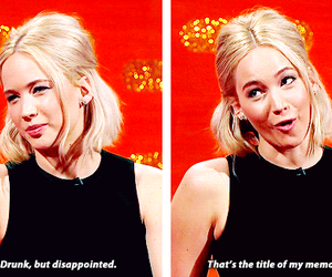funny, Jennifer Lawrence, and quotes image