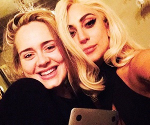 Adele, Lady gaga, and music image