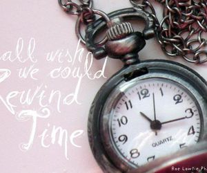 chain, pocket watch, and quote image