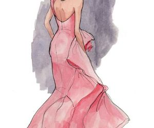 dont forget to follow and pink dress design image