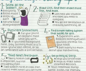 study, school, and study tips image
