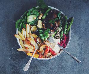burger, healthy, and dinner image
