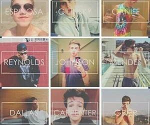 magcon, boys, and taylor caniff image