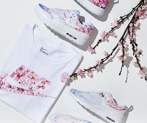 flowers, nike, and pretty image