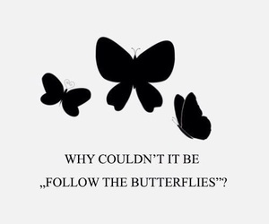 butterflies, harry potter, and quote image
