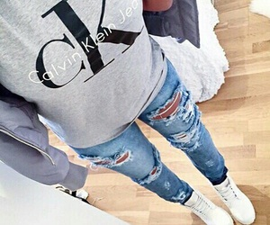 fashion, Calvin Klein, and jeans image