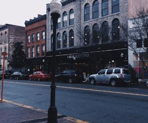 city, downtown, and savannah image
