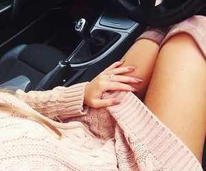 boots, car, and dress image