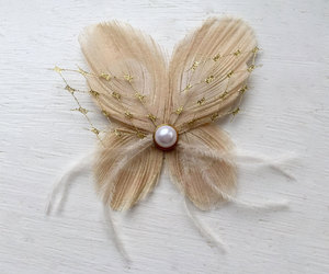 bridal, peacock, and butterfly clip image