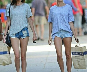 kendall jenner, models, and hailey baldwin image