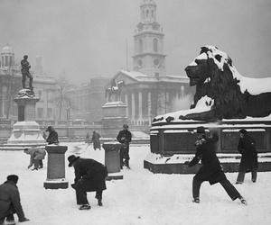1931, black and white, and london image