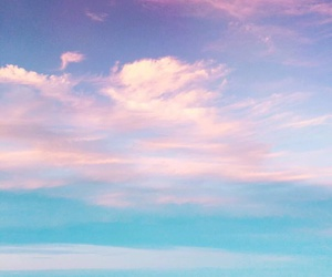 clouds, ocean, and paradise image
