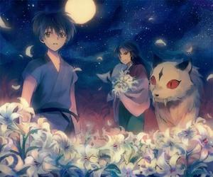 inuyasha, sango, and anime image
