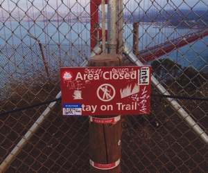 adventure, artsy, and golden gate bridge image