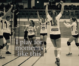 quote and volleyball image