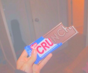 tumblr, chocolate, and crunch image