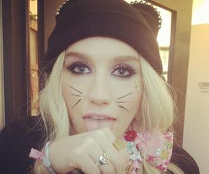 kesha, cat, and ke$ha image