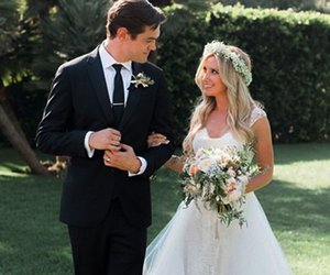 wedding, ashley tisdale, and dress image