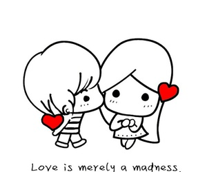 cartoon, wallpapers, and love image