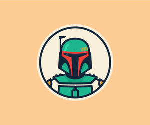 boba fett and star wars image