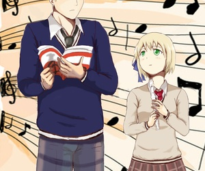 germany, height differences, and hetalia image