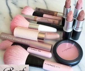 makeup, mac, and pink image