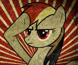 my little pony, friendship is magic, and ranbow dash image