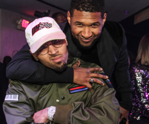 chris brown, breezy, and usher image
