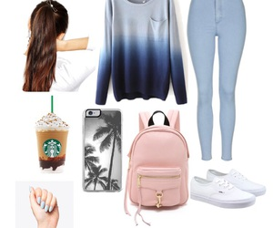 inspiration, nails, and outfit image