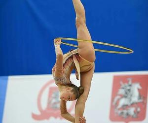 hoop, rhytmic gymnastic, and alekxandra soldatova image