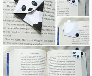 book, panda, and ideas image