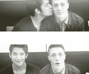 teen wolf, kiss, and colton haynes image