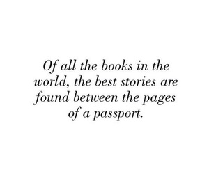 quotes, book, and passport image