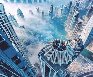 city, Dubai, and sky image