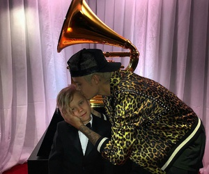 brother, grammy, and justin bieber image