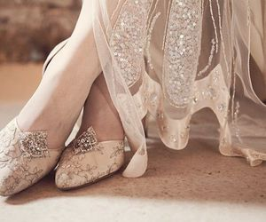 pretty, lace, and shoes image