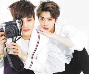 kai, sehun, and exo image