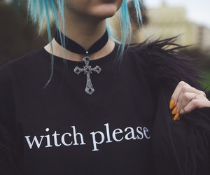 black, alternative, and witch image